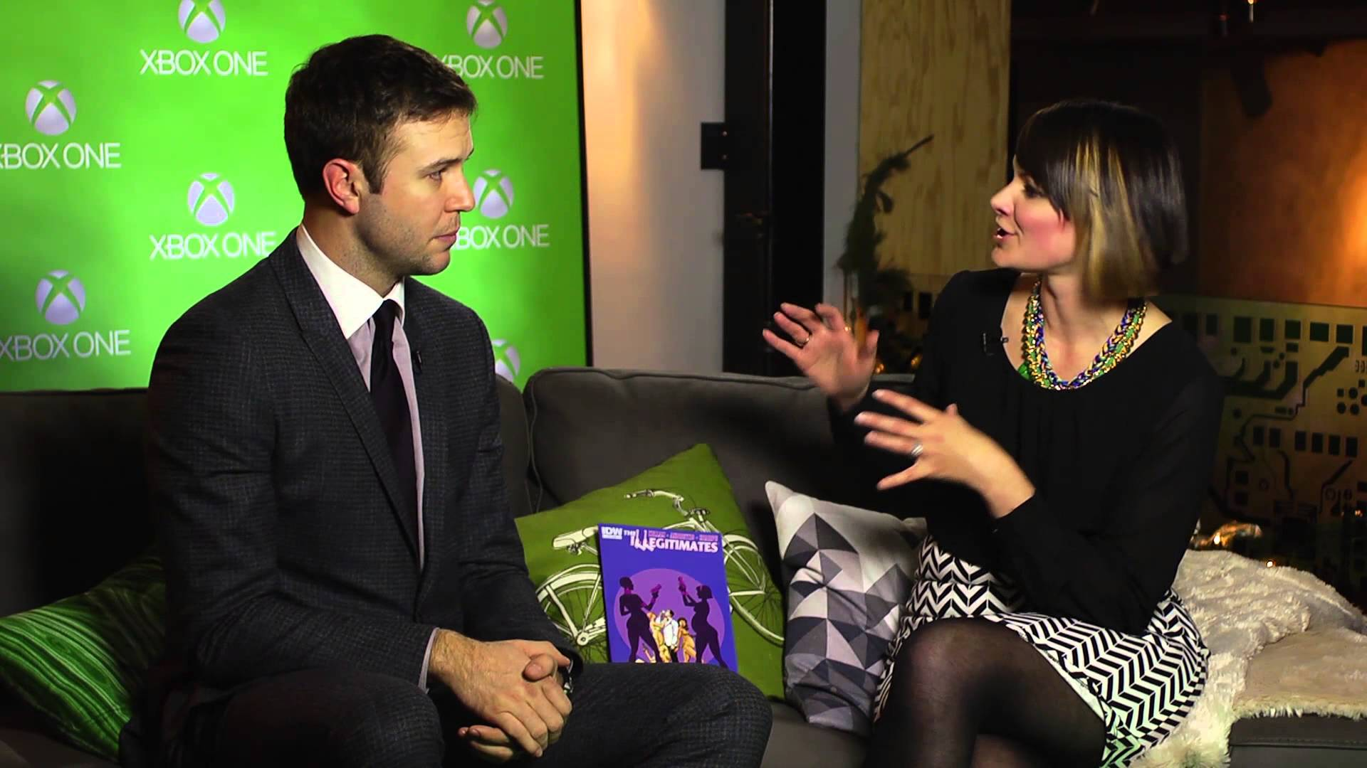 Video For One-on-One with Taran Killam at The Illegitimates Launch Party
