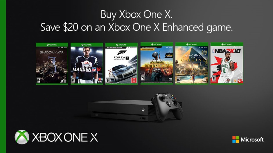 Video For Save on Xbox One X Enhanced Games When You Purchase an Xbox One X