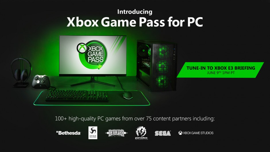 Xbox Game Pass on PC Hero Image