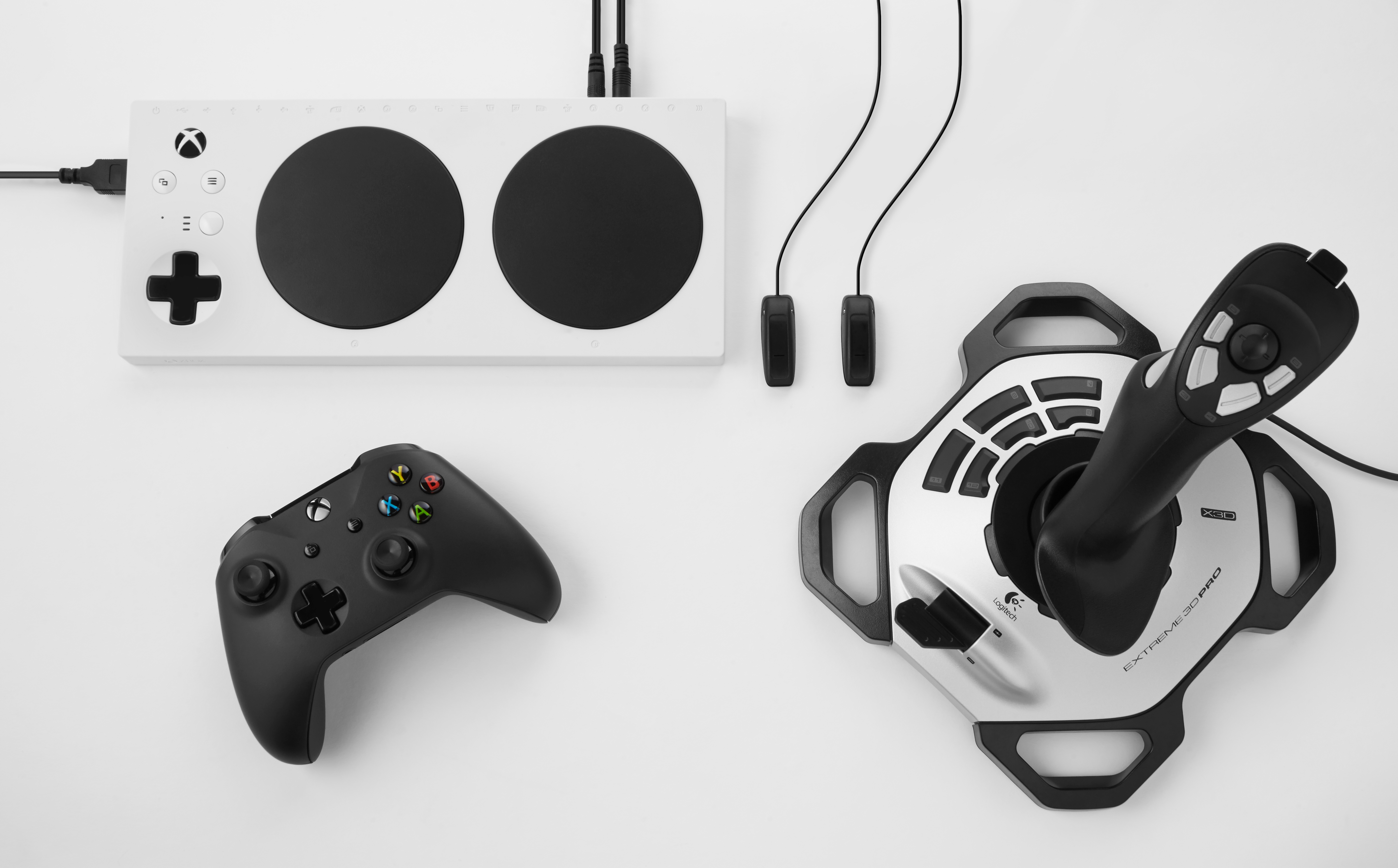 Xbox Adaptive Controller and Equipment