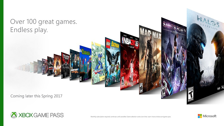 Xbox Game Pass Key Art