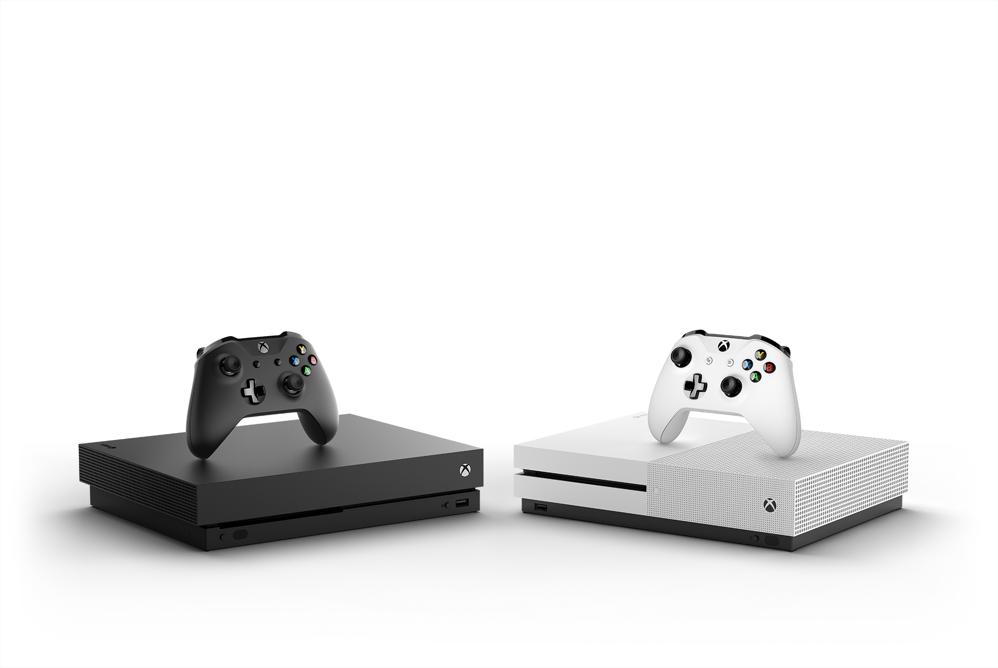 Xbox One X Console Controller Hrz Family Mirror White and Black