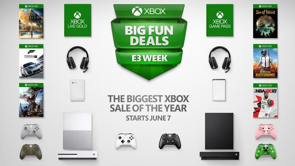 Xbox E3 Sale Hero image