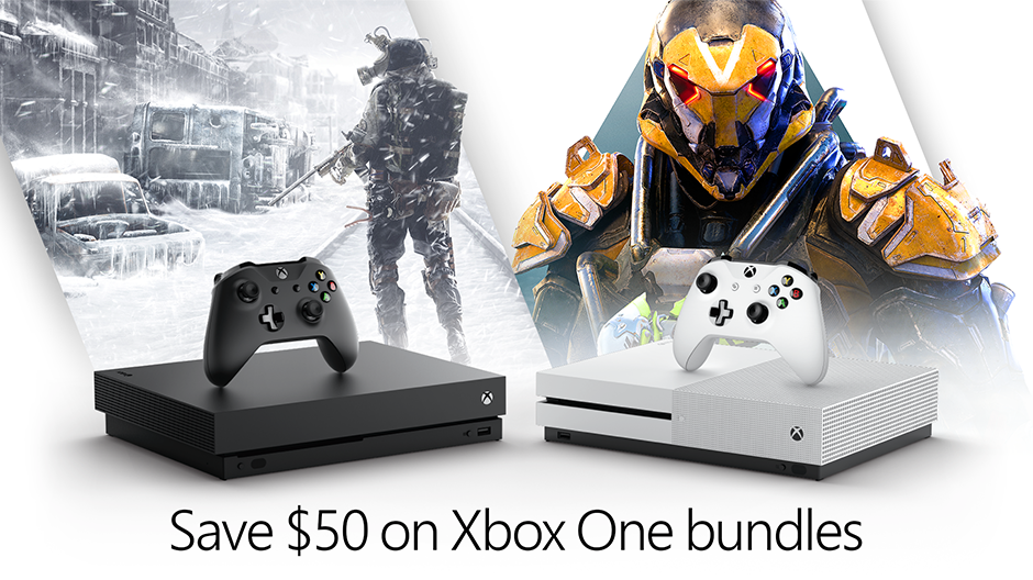 Xbox Bundle Promo Hero Image