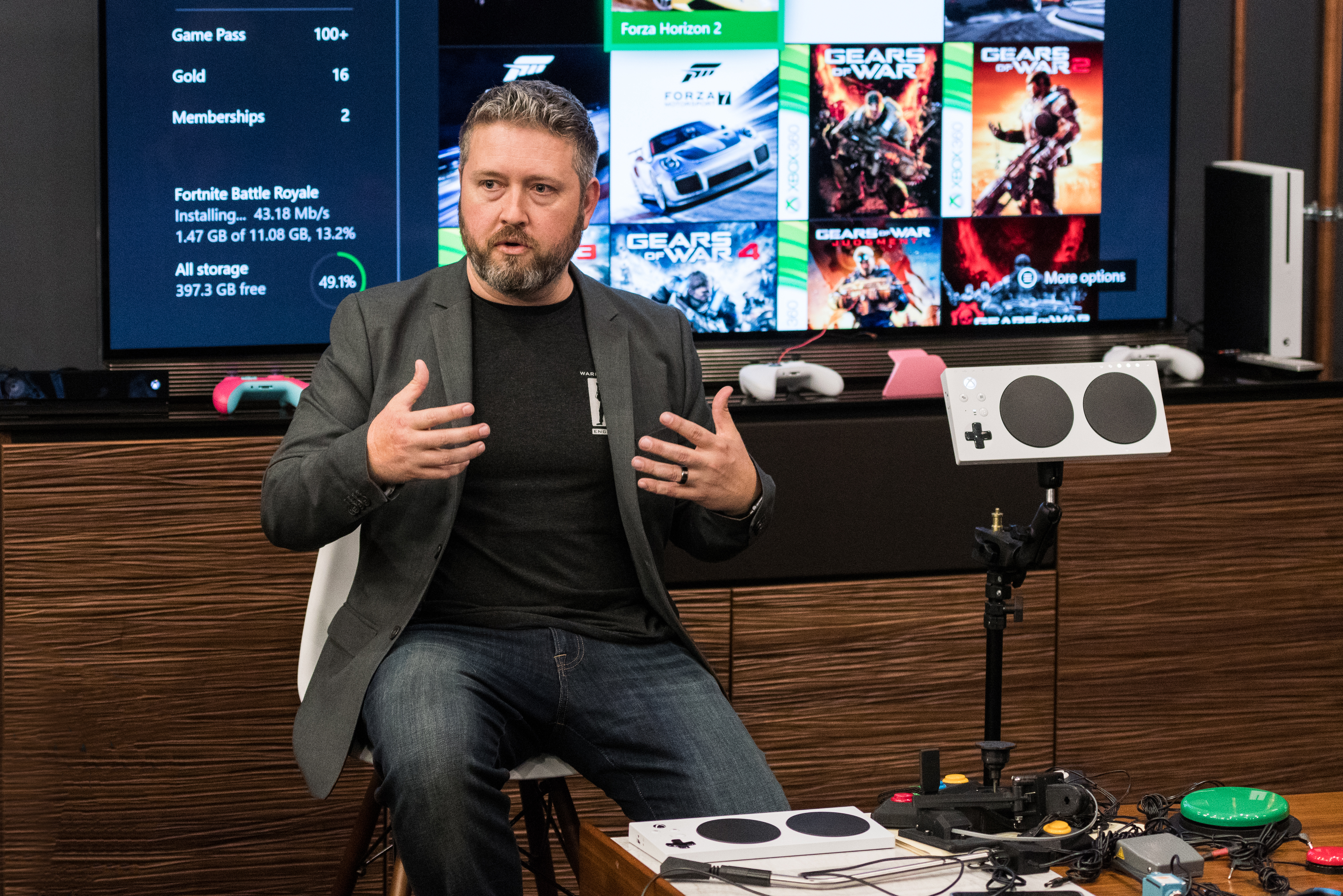 Xbox Adaptive Controller Press Tour V4
