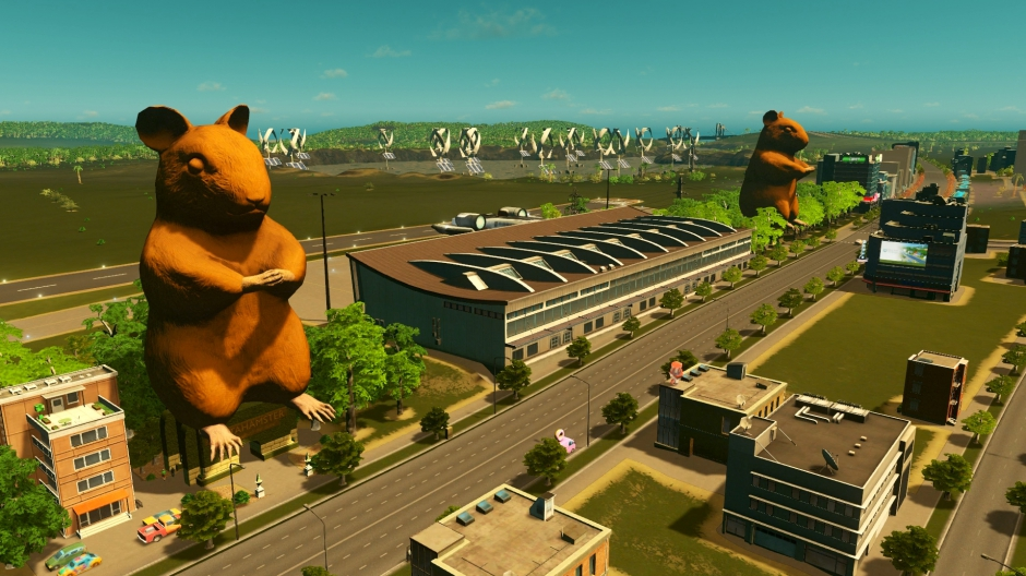 Mods Coming to Your Town in Cities: Skylines - Xbox One