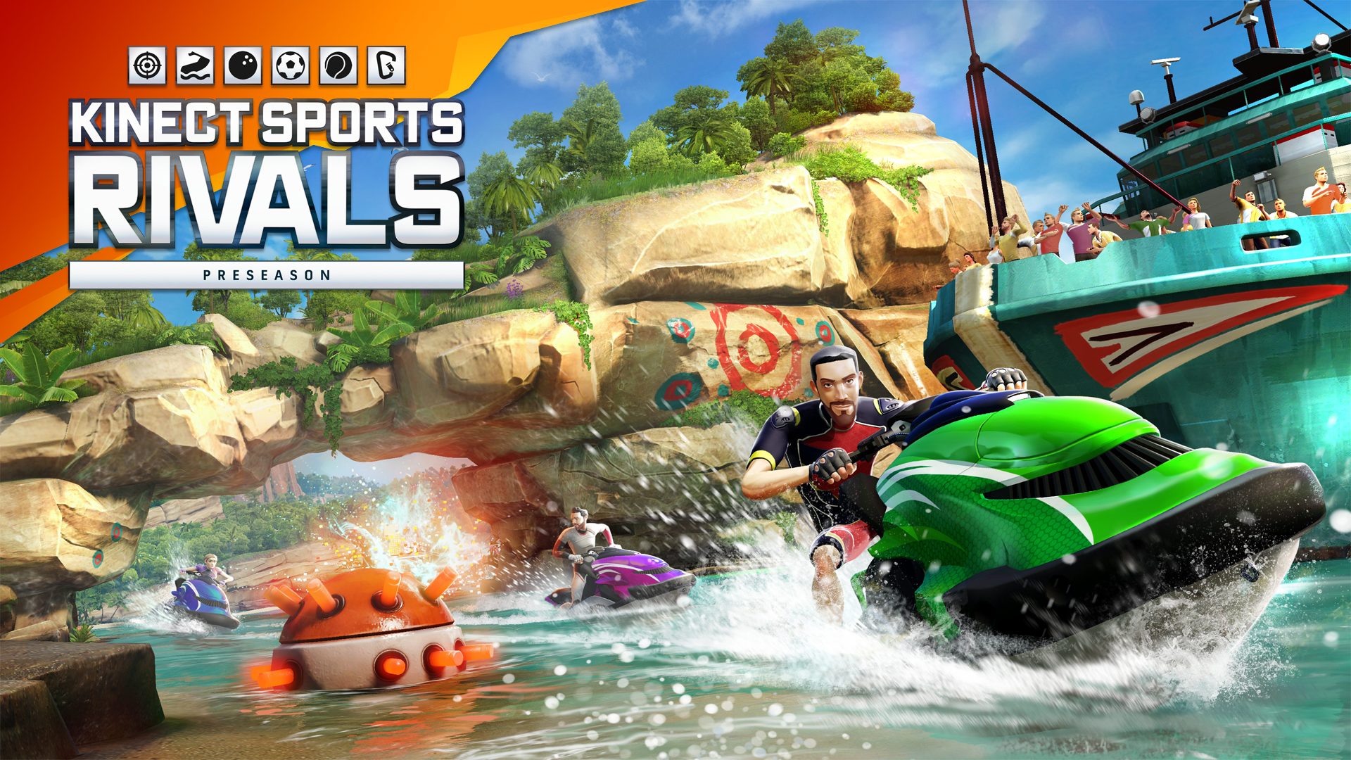 「Kinect Sports Rivals water」の画像検索結果