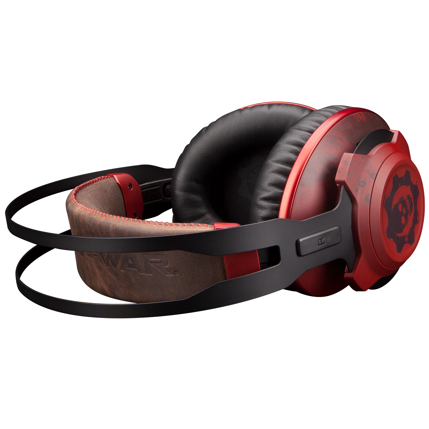 HyperX CloudX Revolver Gears of War Gaming Headset top view