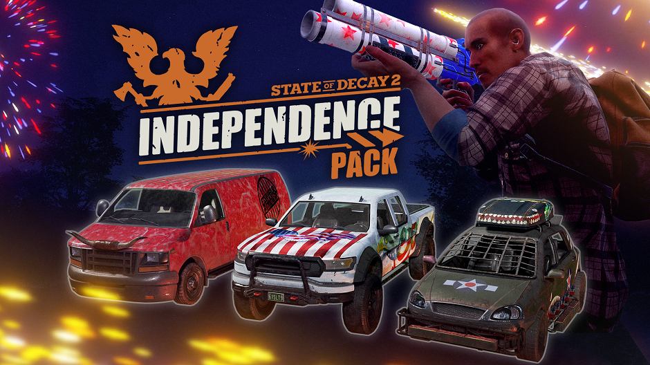 Video For State of Decay 2 Celebrates 3 Million Players with Today's Release of the Independence Pack