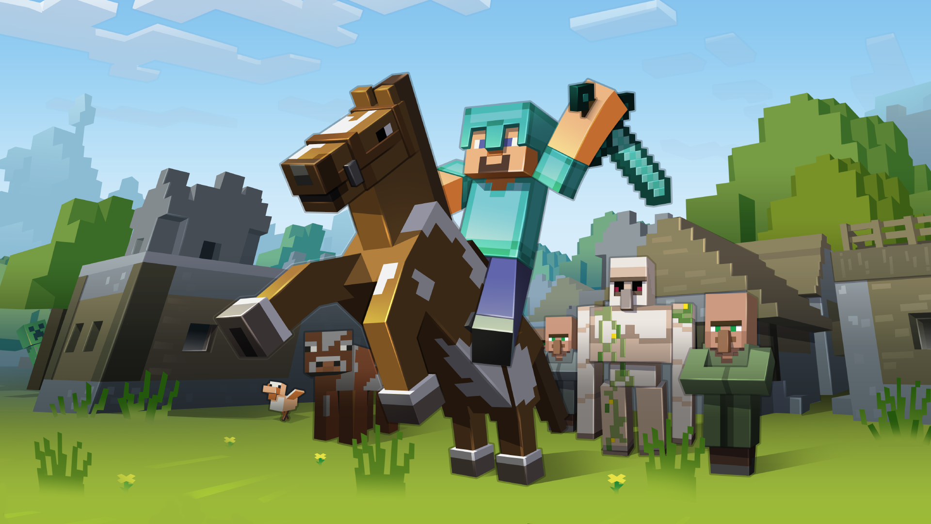Art for Minecraft: Xbox One Edition
