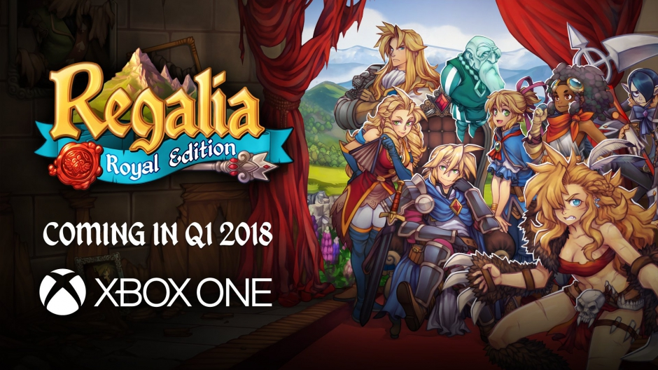 Video For JRPG-Inspired Regalia: Royal Edition Coming Soon to Xbox One