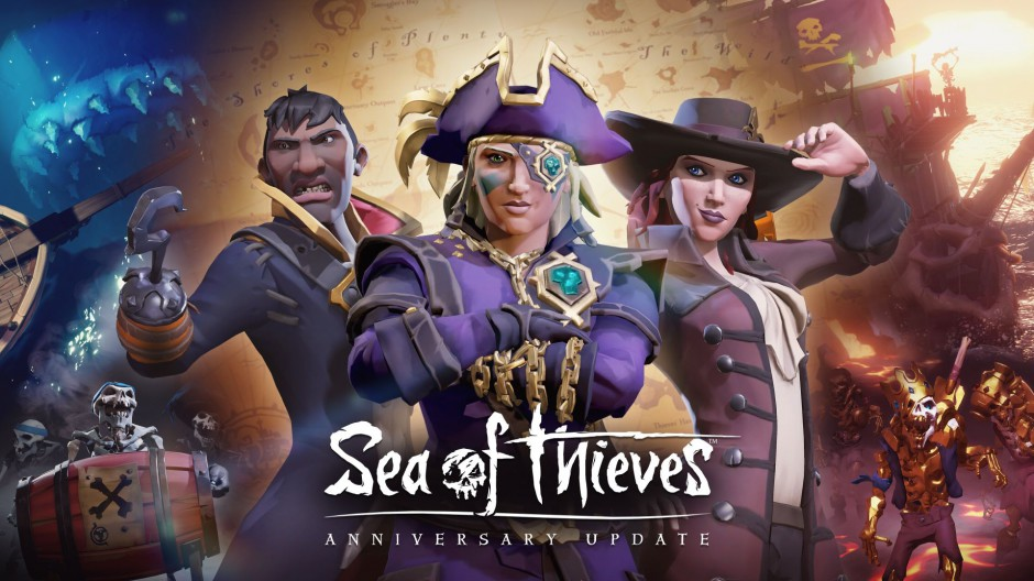 Sea of Thieves Anniversary Update Available Now for Free