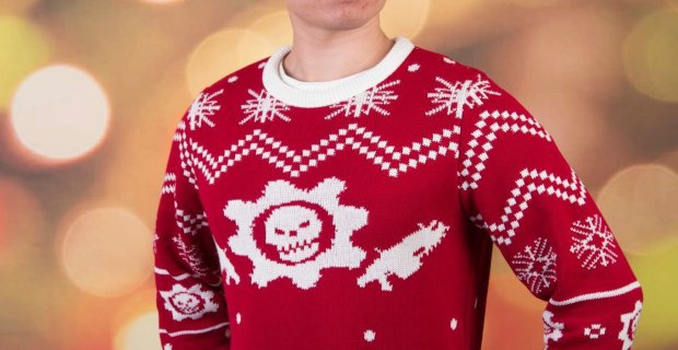 Gears of War Holiday Sweater