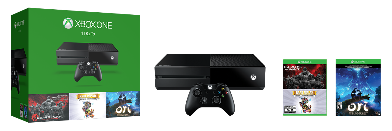 Three Blockbuster Games When You Take Home the Xbox One 1TB Holiday Bundle