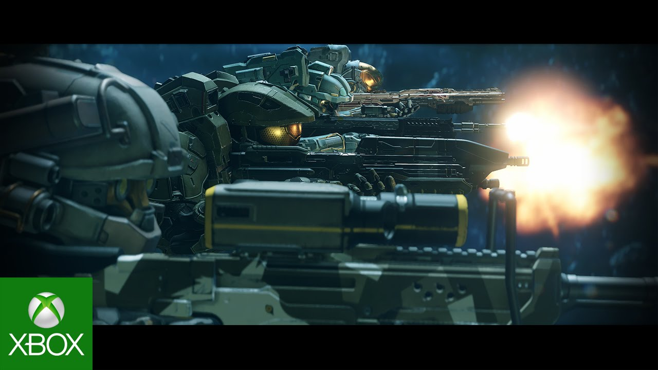 Video For Halo 5: Guardians Campaign Cinematic Introduces Blue Team