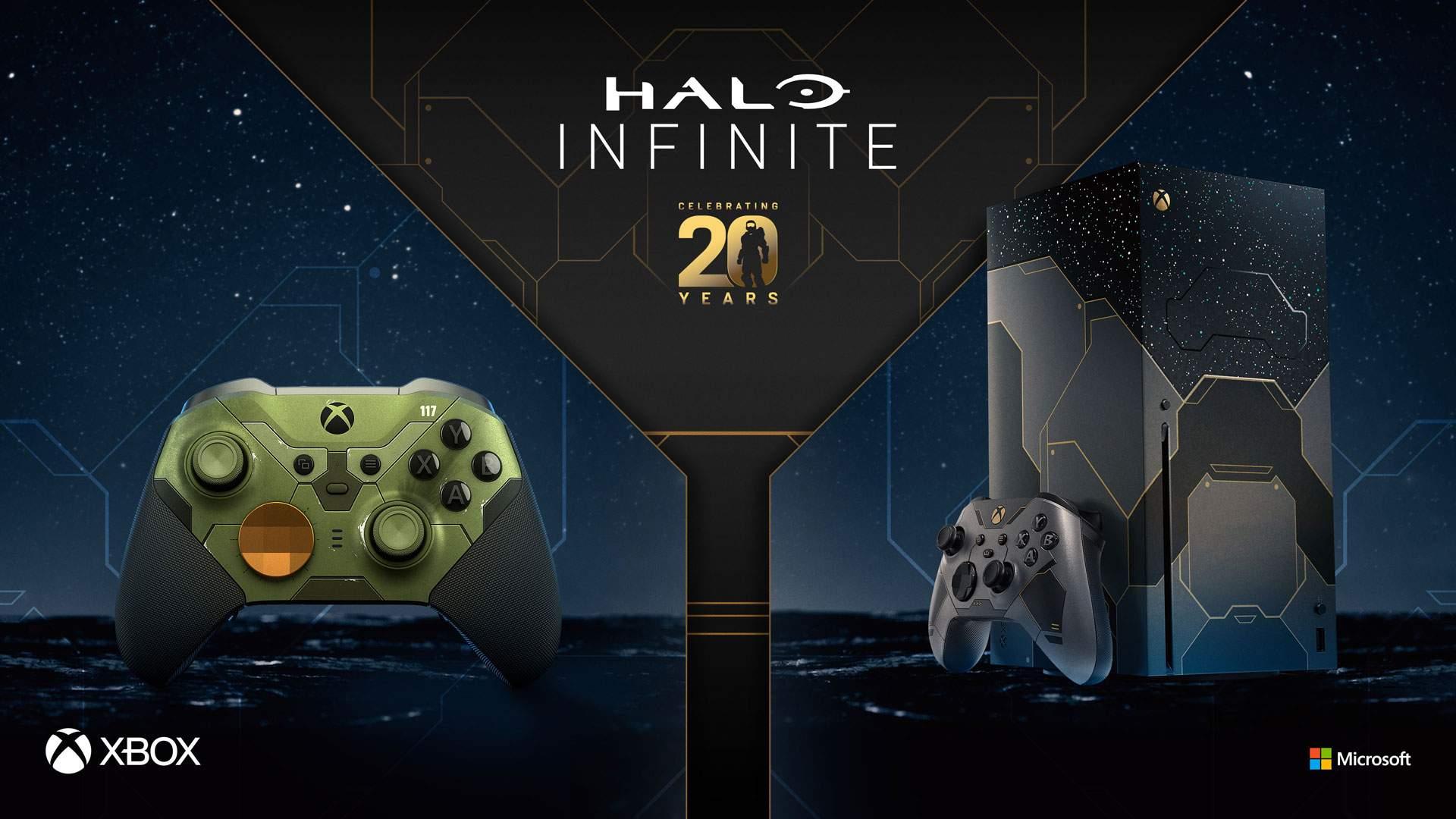 Festeja 20 años de Halo con un Xbox Series X – Halo Infinite edición  limitada y más! - Xbox Wire en Español