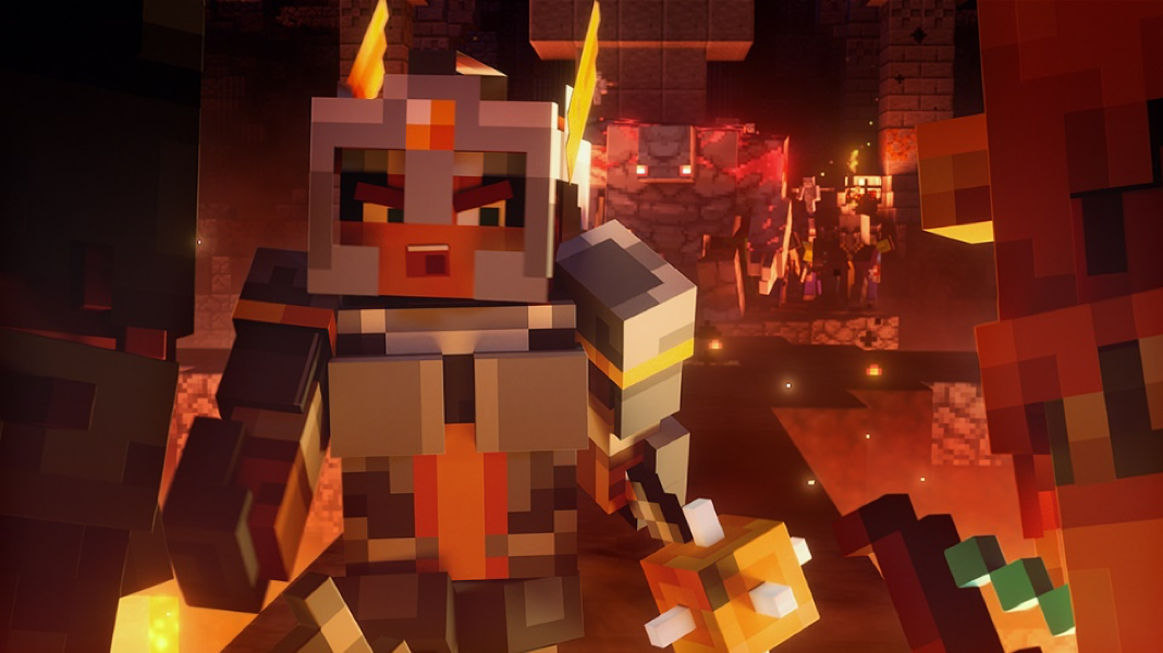 Video For Minecraft Dungeons est disponible