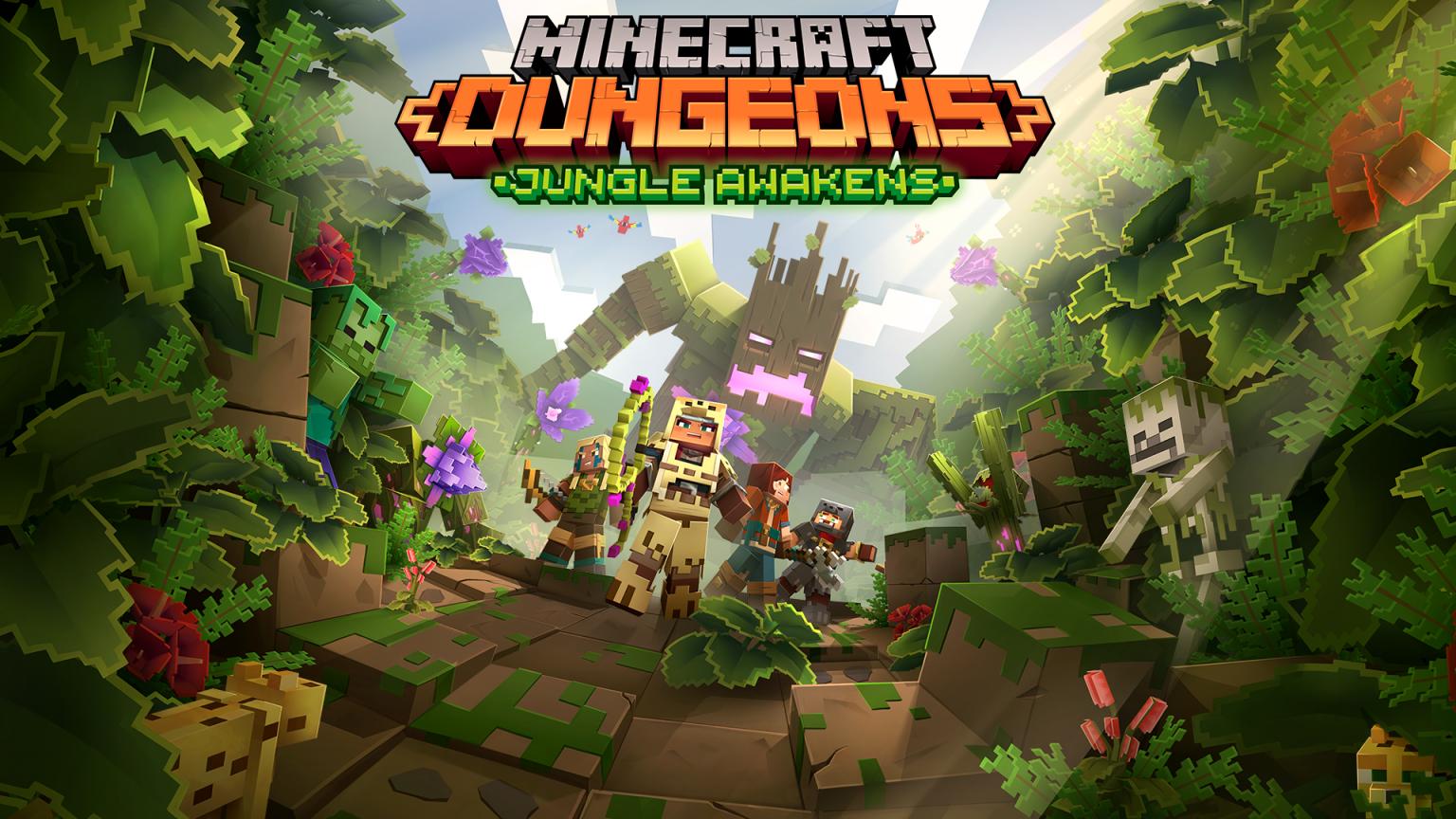 Video For Minecraft Dungeons : le DLC « Jungle Awakens » est disponible !