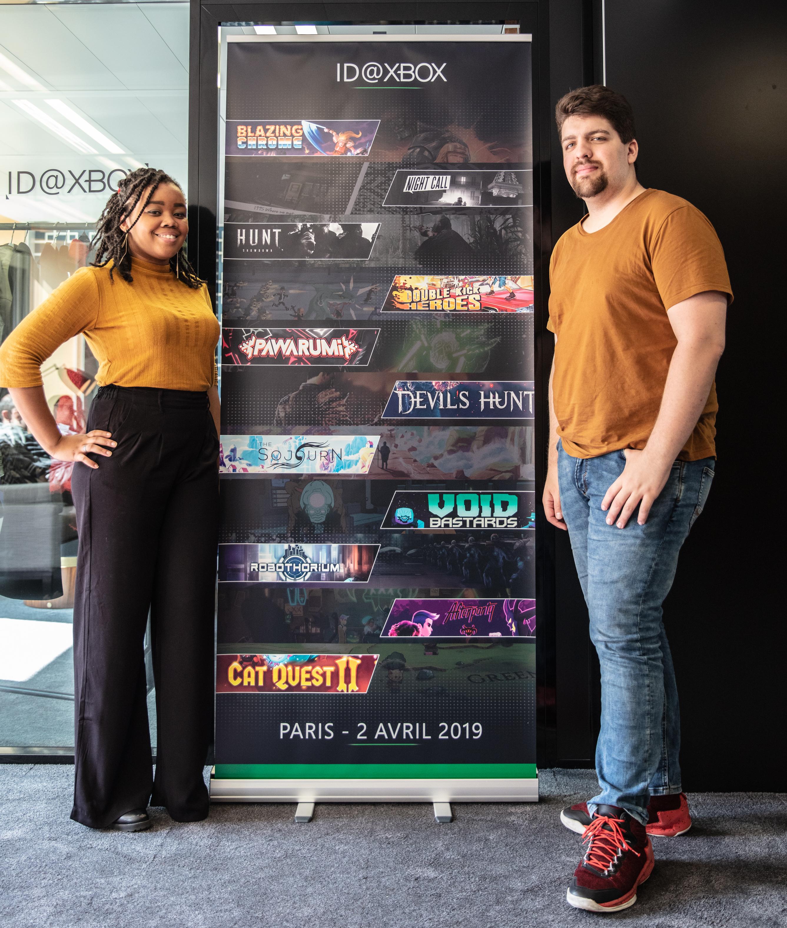 Video For ID@Xbox: rencontre avec The Arcade Crew, éditeur de Blazing Chrome