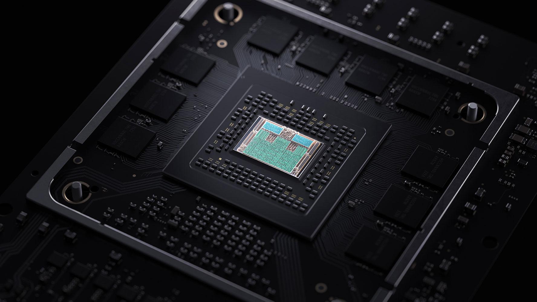 Процессор из консоли Xbox Series X