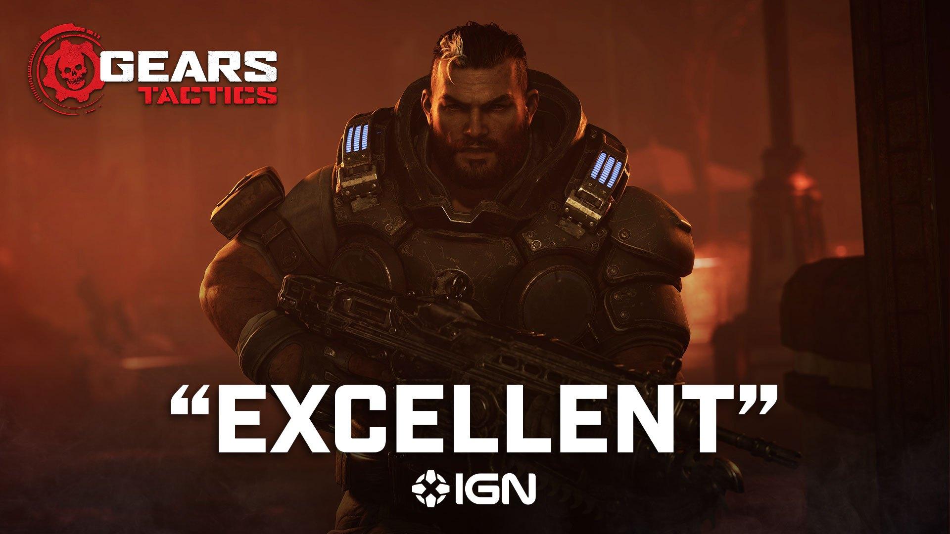 Обложка игры Gears Tactics